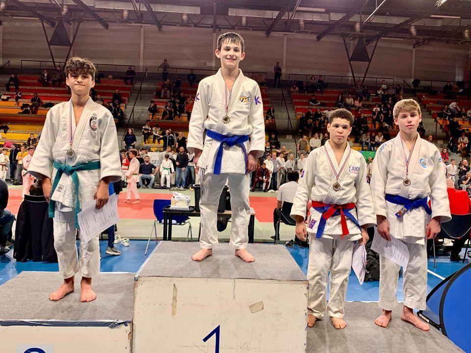 Coupe Régionale PACA Minimes   Ecole de Judo Lefebvre / Darbelet
